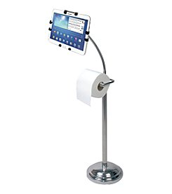 CTA Digital iPad® Pedestal Stand With Roll Holder