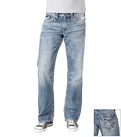 Silver Jeans Co.® Men's Indigo 'Zac Flap' Jeans