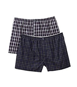 Jockey® Men's Navy 2-Pack Big Man Boxer