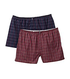 Jockey® Men's Red 2-Pack Big Man Boxer