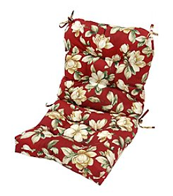 Greendale Home Fashions Roma Floral Outdoor Seat and Back Chair Cushion