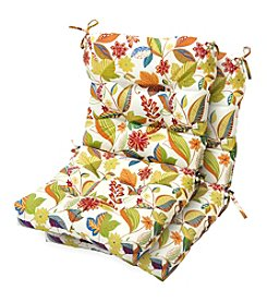 Greendale Home Fashions Set of Two Esprit Outdoor Seat/Back Chair Cushions