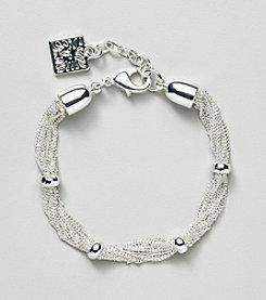 Anne Klein® Silvertone Chain Bracelet