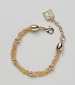 Anne Klein® Goldtone Chain Bracelet