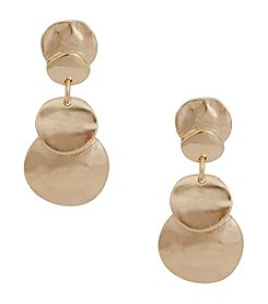 Erica Lyons® Goldtone Earrings