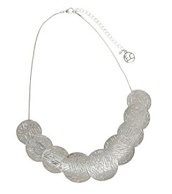 Erica Lyons® Silvertone Necklace