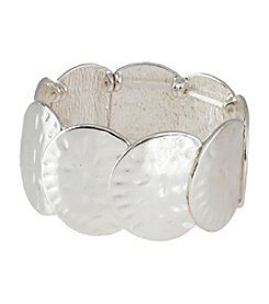 Erica Lyons® Silvertone Bracelet