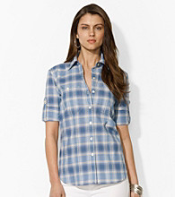Lauren Jeans Co.® Roll-Sleeve Shirt