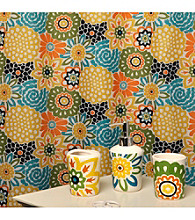 Waverly® by Famous Home Fashions Button Blooms 5-pc. Bath Collection