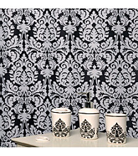 Waverly® by Famous Home Fashions Essence Black 5-pc. Bath Collection