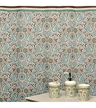 Waverly® by Famous Home Fashions Paisley Prism Latte 5-pc. Bath Collection