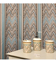 Waverly® by Famous Home Fashions Wind Stripe 5-pc. Bath Collection