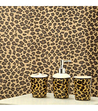 Famous Home Fashions® Leopard Brown 5-pc. Pc Bath Collection