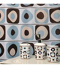 Famous Home Fashions® Vintage Square Blue 5-pc. Bath Collection