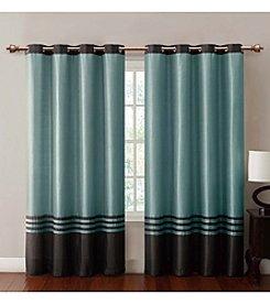 Victoria Classics Barclay Faux Silk Grommet Panel