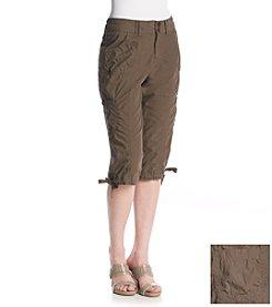 Calvin Klein Performance Ridget Waist Cropped Cargo Pants