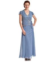 J Kara® Mock Flair Dress With Side Tie