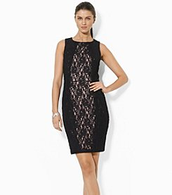 Lauren Ralph Lauren® Sleeveless Lace Shift Dress