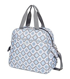 The Bumble Collection Brittany Backpack - Sky Blue Montage