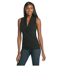 Vince Camuto® Sleeveless Wrap Top