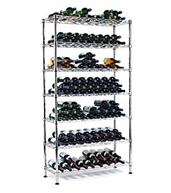 Wine Enthusiast Steel Pantry 126-Bottle Wine Rack