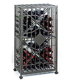 Wine Enthusiast SoHo 64-Bottle Wine Jail