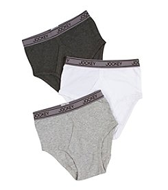 Jockey® Boys' White/Grey/Black 3-pk. Briefs