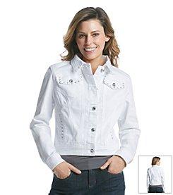 Earl Jean® Bling Jean Jacket