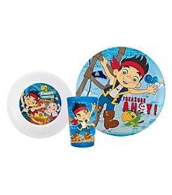 Zak Designs® Disney™  Jake & Neverland Pirates 3-pc. Dinnerware Set