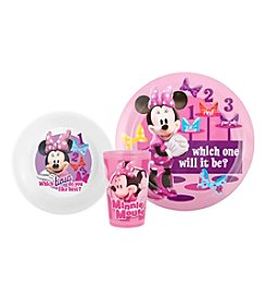 Zak Designs® Disney™ Minnie Mouse® 3-pc. Dinnerware Set
