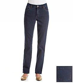 Jones New York Signature® Lexington Plain Back Pocket Jeans