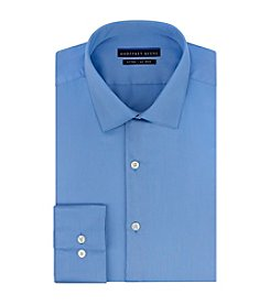 Geoffrey Beene® Men's Fitted Sateen Spread Collar Dress Shirt