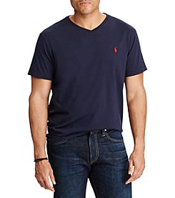 Polo Ralph Lauren® Men's Big & Tall Short Sleeve Jersey V-Neck Tee