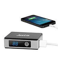 JUSTIN by Innovative Technology 5,200mAH Power Bank with LCD Display