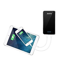 JUSTIN by Innovative Technology 10,000 mAH Power Bank with Dual Charging Ports