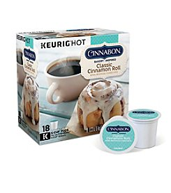 Keurig Cinnabon Classic Cinnamon Roll Coffee 18-pk. K-Cup® Portion Pack