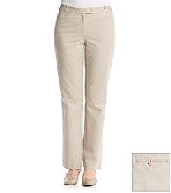 Calvin Klein Petites' Straight Leg Suit Pants