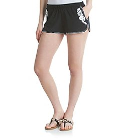 Hippie Laundry Embroidered Soft Shorts