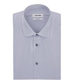 Calvin Klein Men's Big & Tall Long Sleeve Dress Shirt