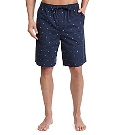 Nautica® Men's Navy J-Class Woven Sleep Short