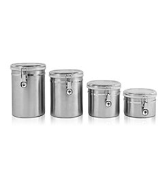 Ragalta 4-pc. Stainless Steel Canister Set