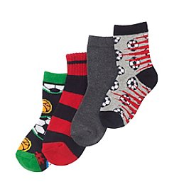 Statements Boys' Assorted 4-pk. Sports Socks