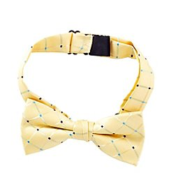 Statements Boys' Small Checkered Bow Tie