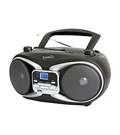 Supersonic Portable Audio System MP3/CD Player with AM/FM Radio