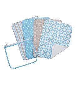 Trend Lab 4-pk. Logan Burp Cloth Set
