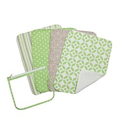 Trend Lab 4-pk. Lauren Burp Cloth Set