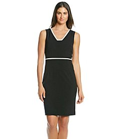 Anne Klein® Color Block Sheath Dress