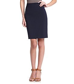 Anne Klein® Pencil Skirt With Yoke