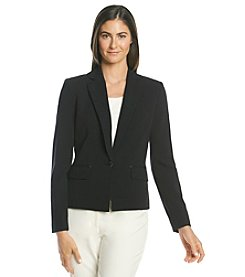 Anne Klein® One Button Single Breasted Jacket