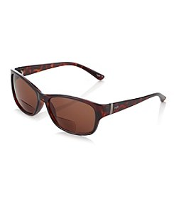 Café Readers® Tortoise Wrap Sunglass Readers